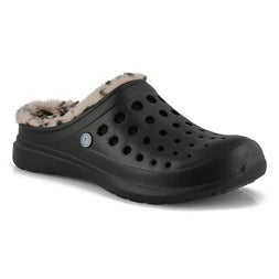 Unisex Uaslp black/cheetah comfort clogs