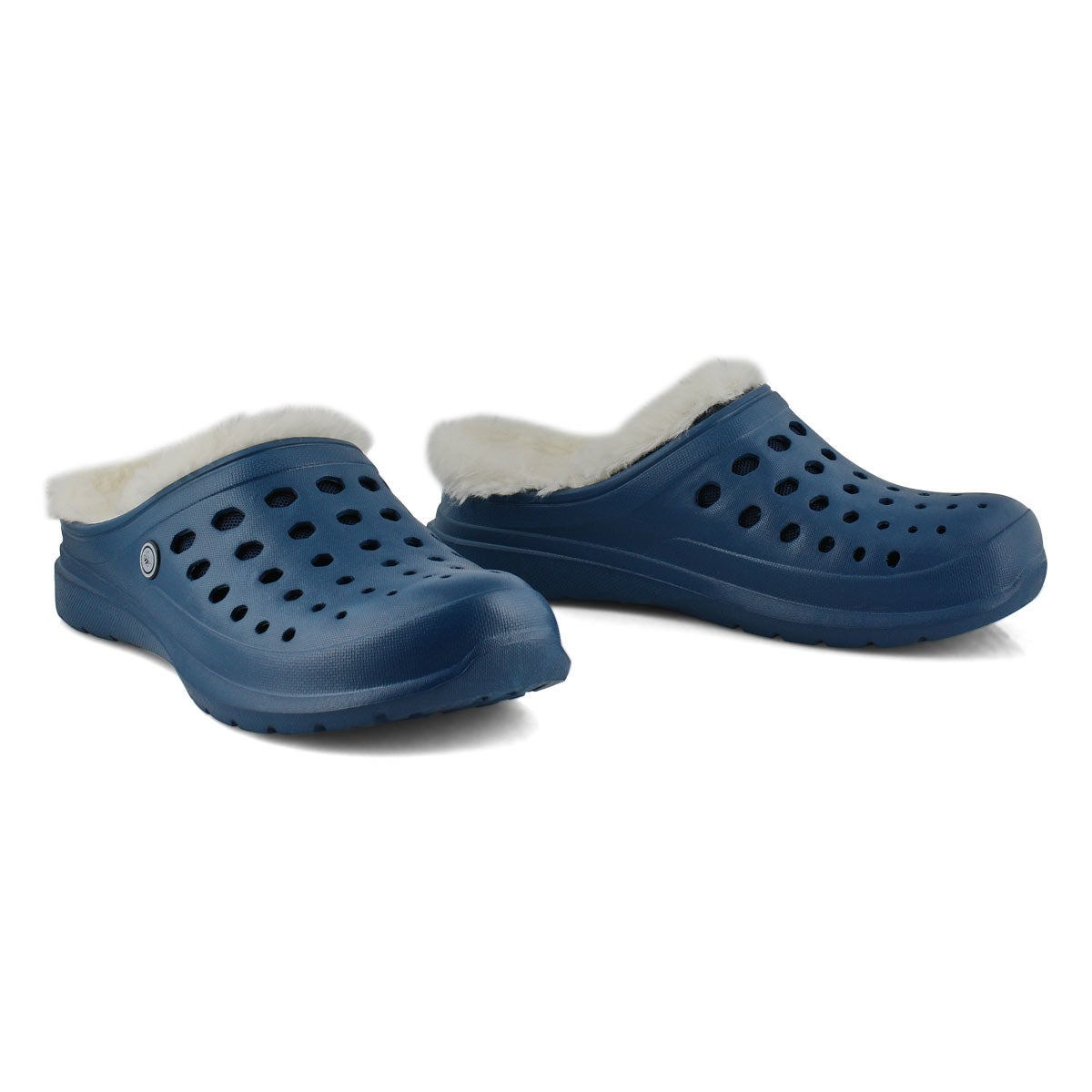 Unisex Uaslp Comfort Clog - Navy/ Natural