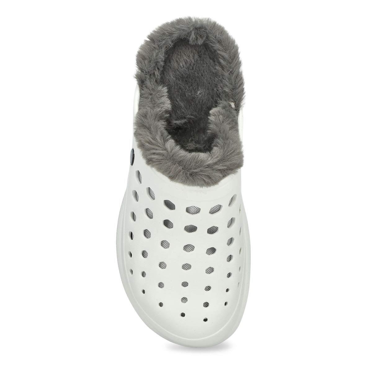 Unisex Uaslp Comfort Clog - White/Charcoal