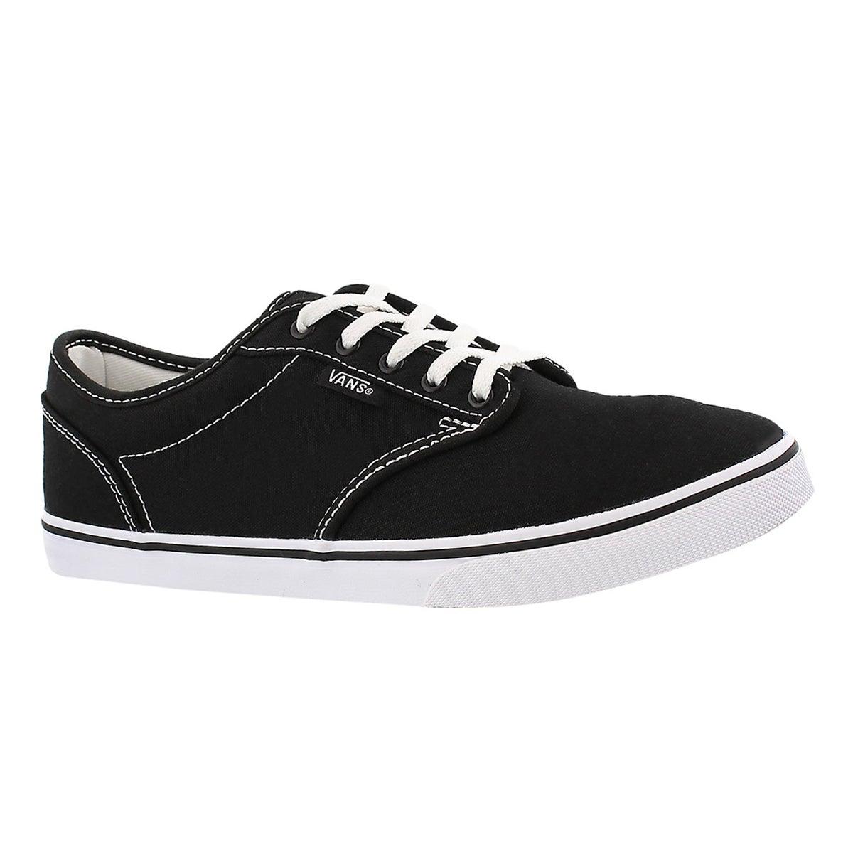 Women's Atwood Low Sneaker - Black/White