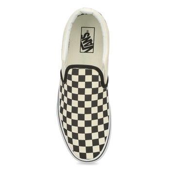 Men's Asher Sneaker - Checkered Black/Natural