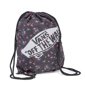 Women's BENCHED BAG floral black cinch backpacks