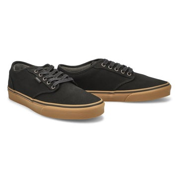 Men's Atwood lace up sneaker - black/gum