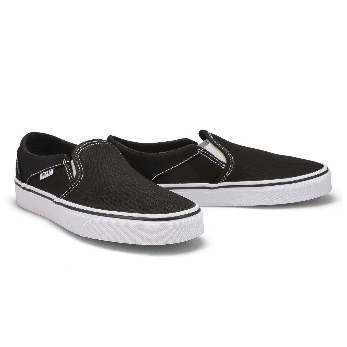 Women's Asher Sneaker - Black/White