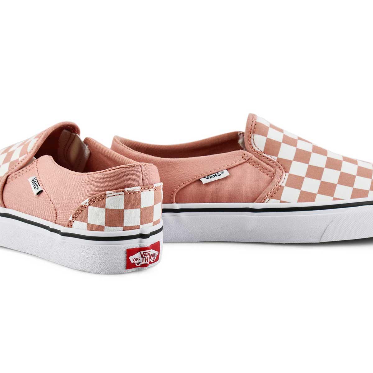 Women's Asher Sneaker - Rose Dawn/White