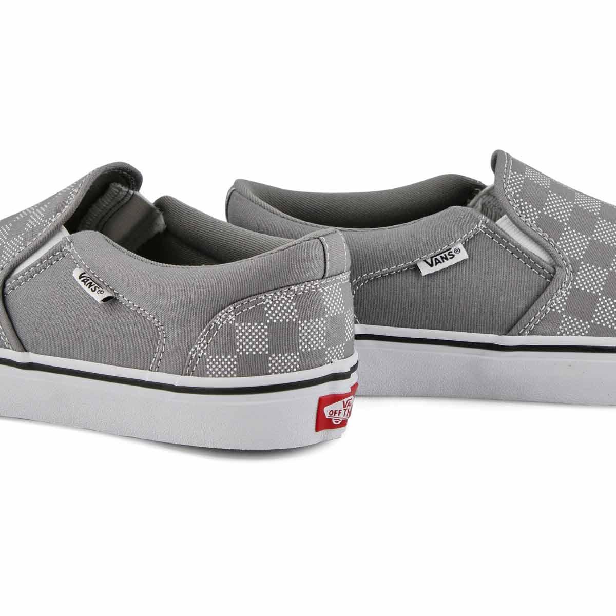 Men's ASHER Sneaker - Frost Gray/White
