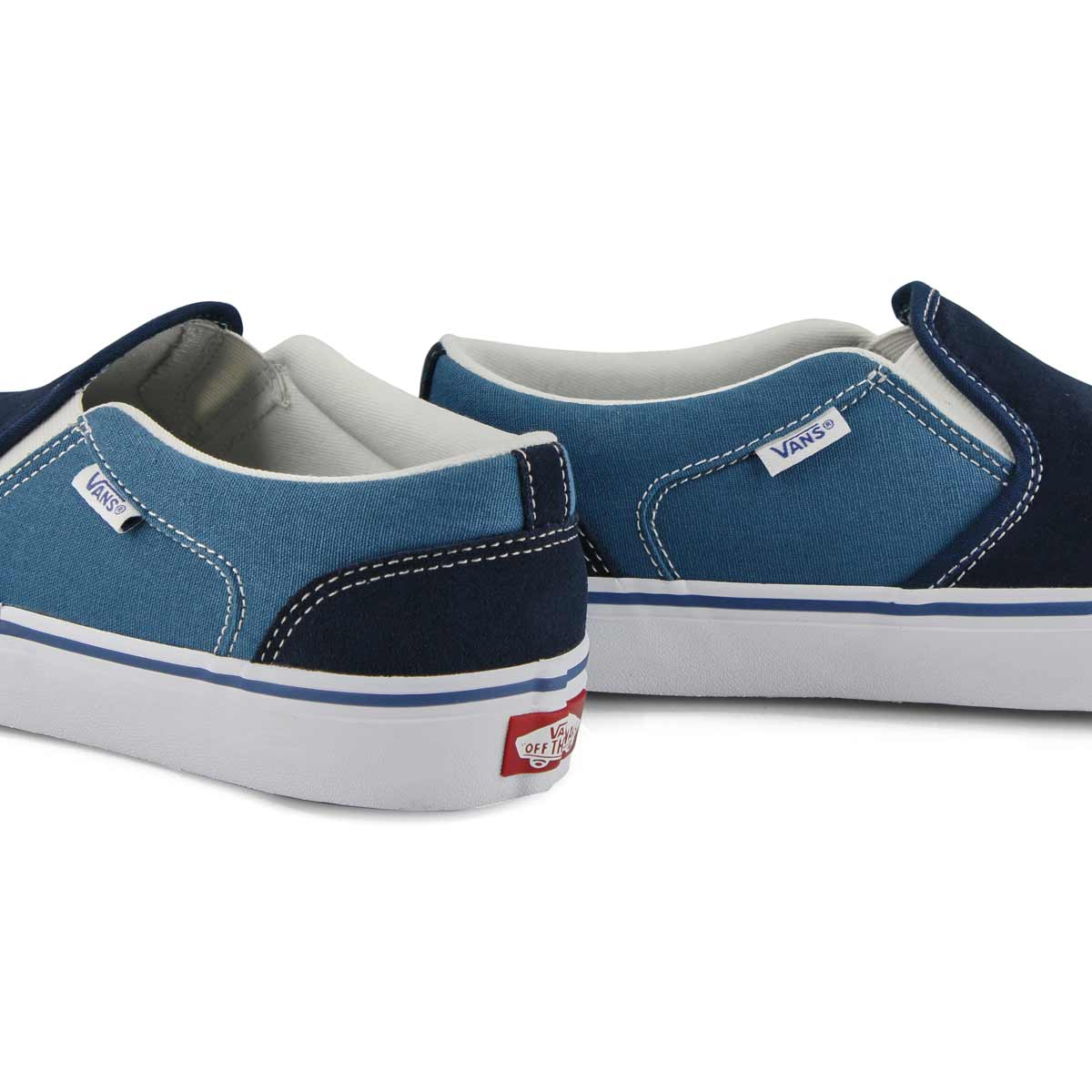 Men's Asher Sneaker - Navy/Moroccan Blue
