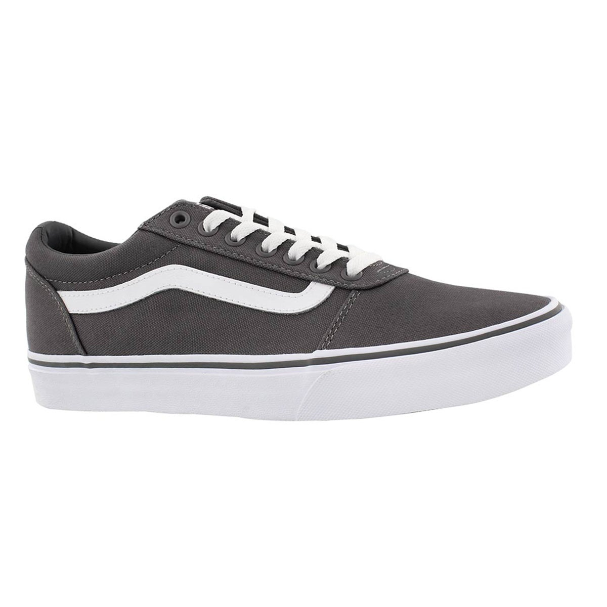 Men's WARD pewter/white lace up sneakers