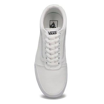 Men's WARD wht/wht lace up sneakers