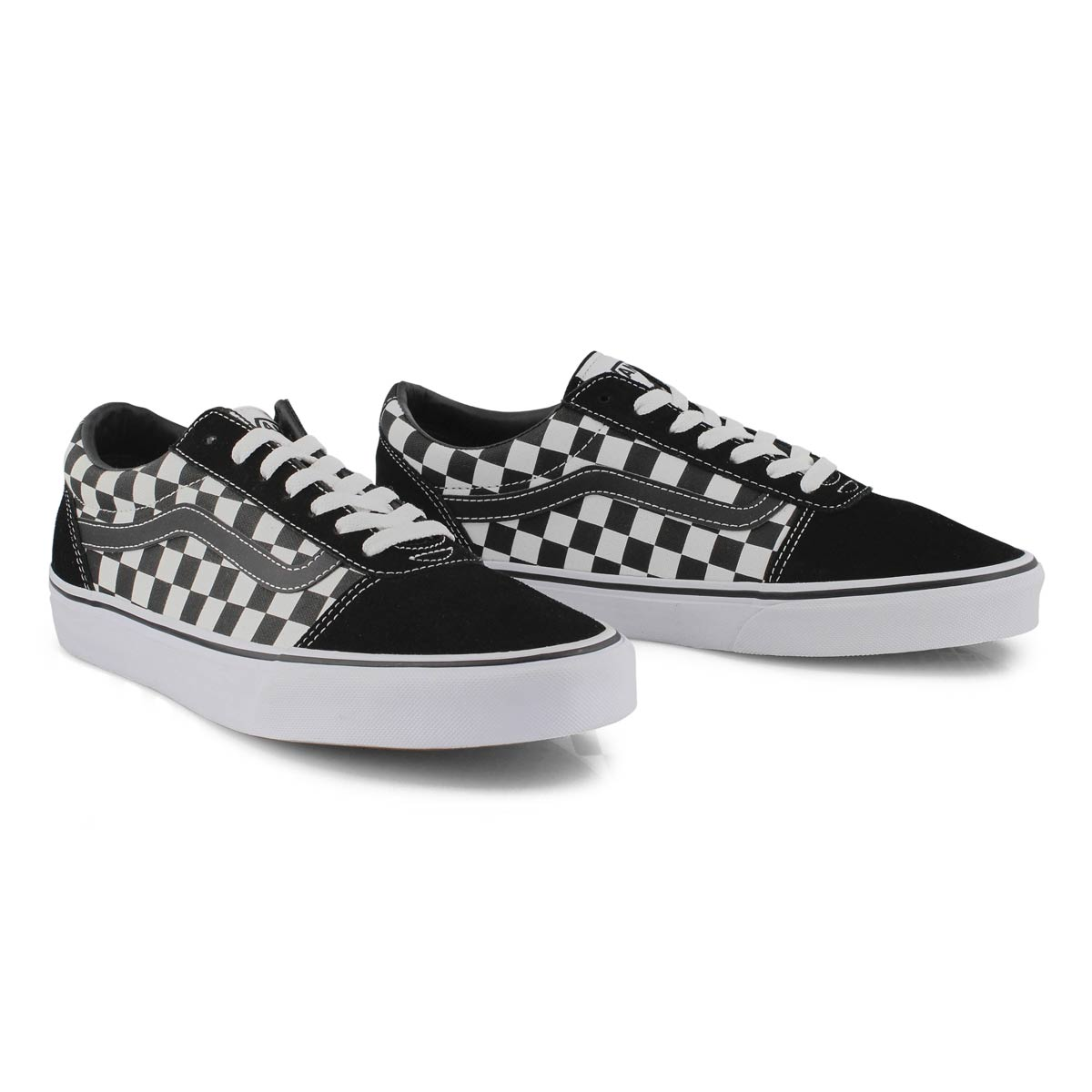 Men's Ward Sneaker - Checkered Black/White