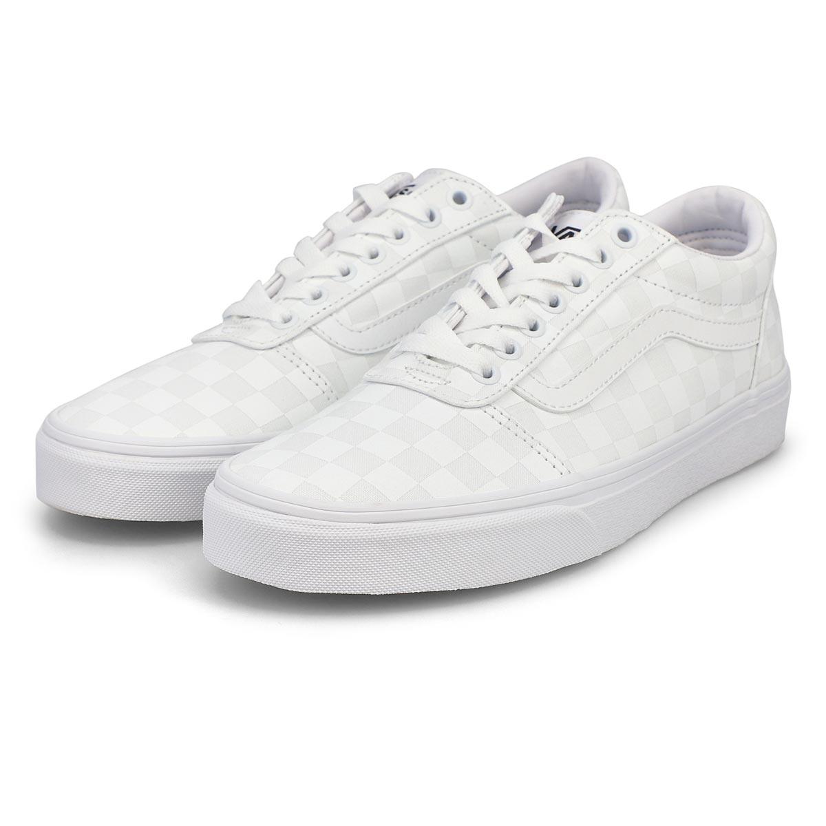 Men's Ward Sneaker - Checkered White/White
