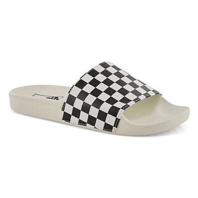 Women's SLIDE ONE mshmlw/blk slide sandals