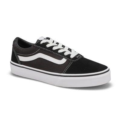 Boys' Ward Sneaker - Black/White