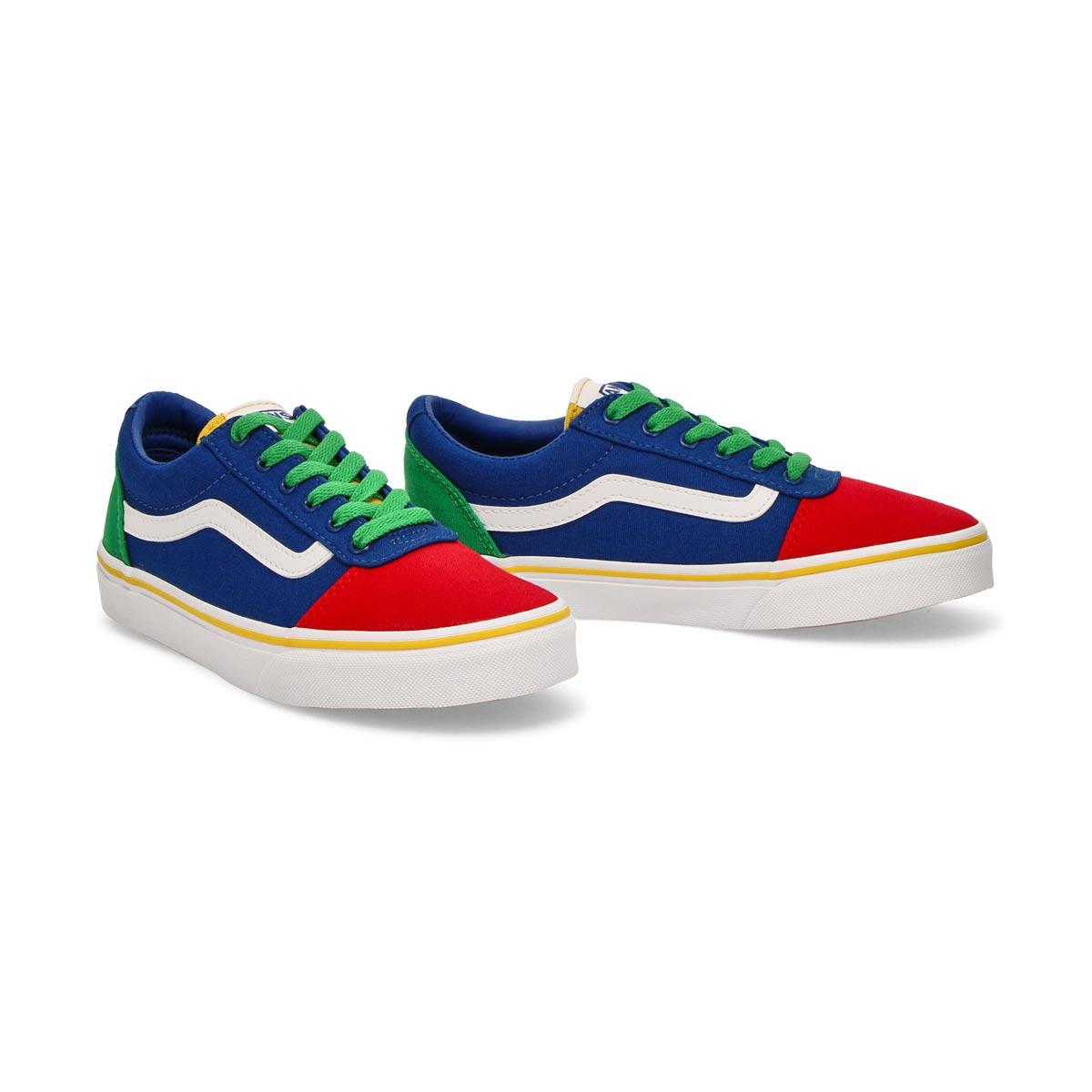 Boys' Ward Sneaker - Colour Block Multi