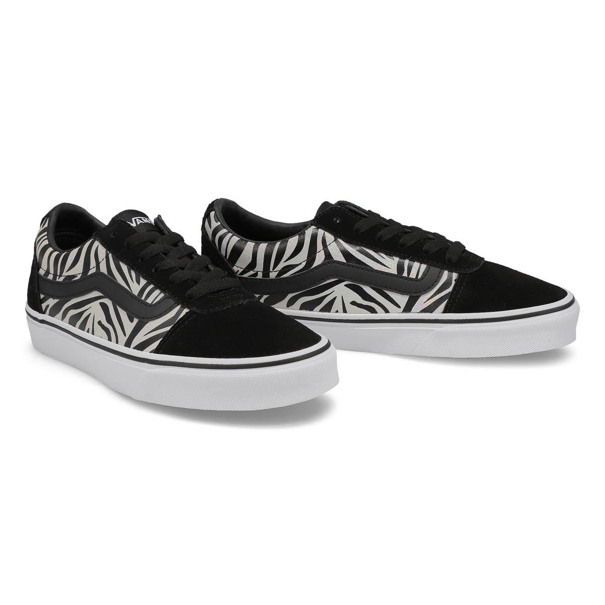 Women's Ward Sneaker - Metallic Zebra/Blk/Wht