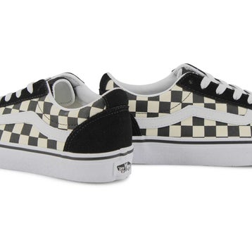 Women's Ward Sneaker - Checkered Black/White