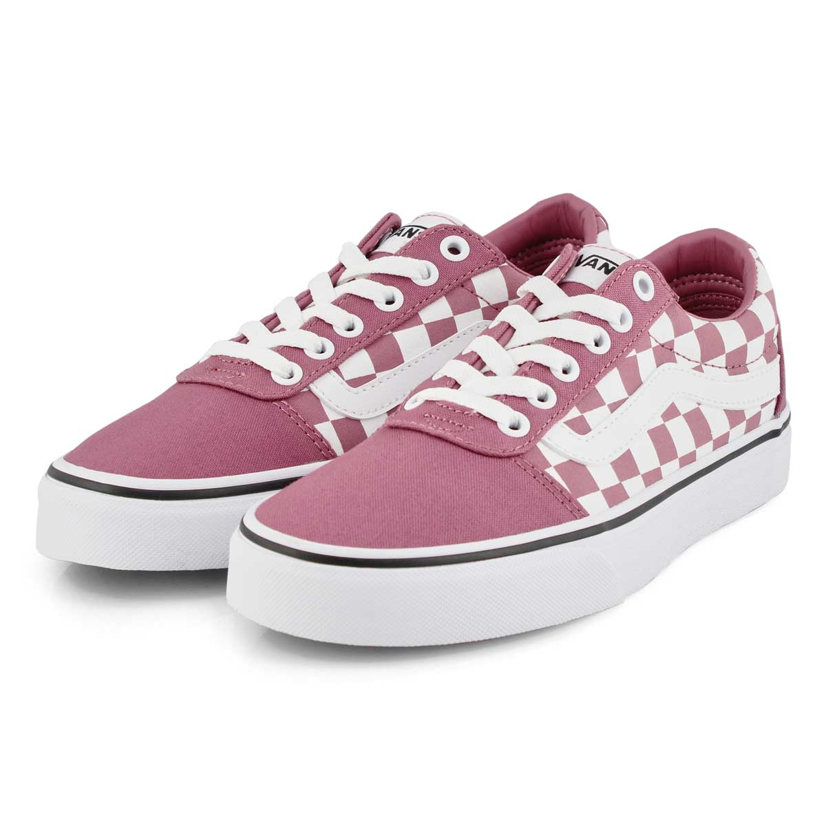 Women's Ward Sneaker - Checkered Rose/White