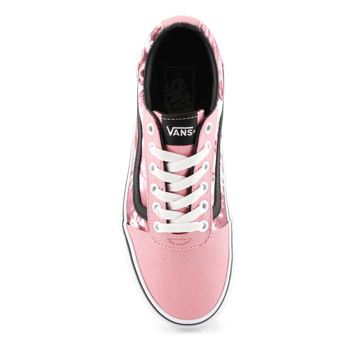 Women's Ward Sneaker - Tie Dye Pink/White
