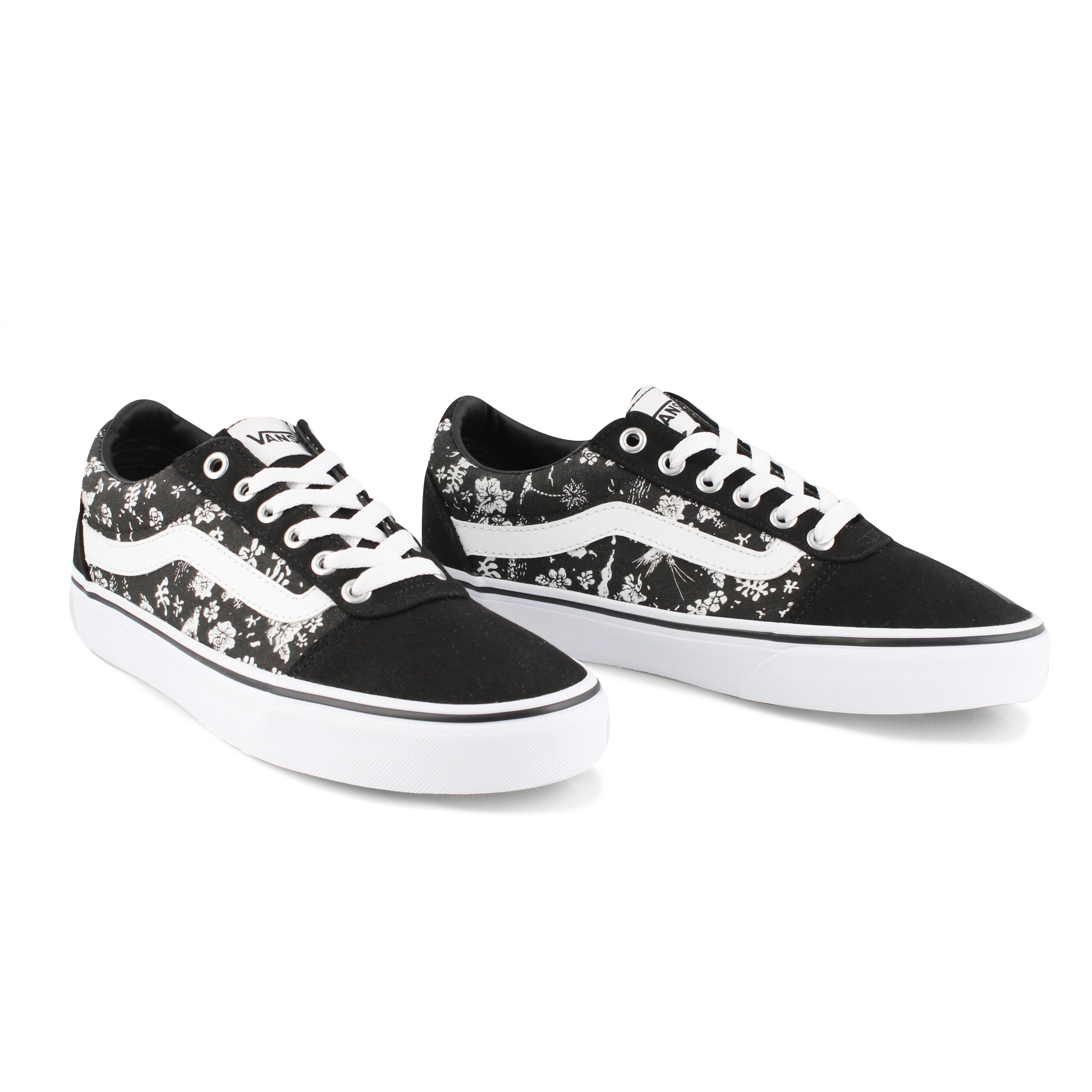 Women's Ward Sneaker - Tropics Black/White