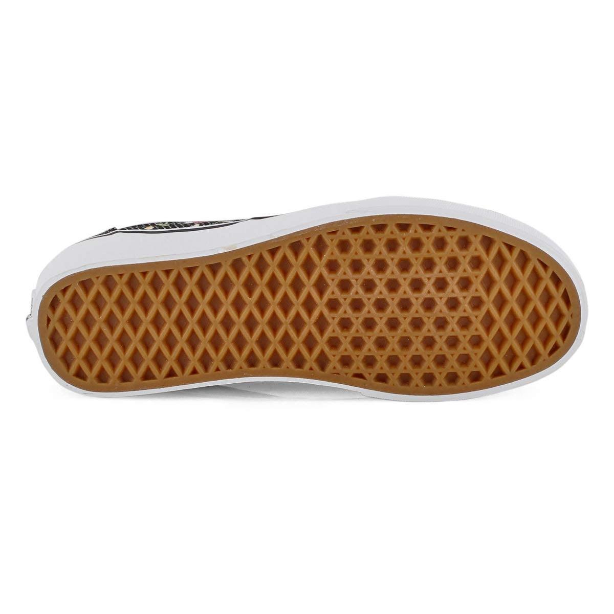 Women's Doheny Sneaker - Floral Dot Black/White