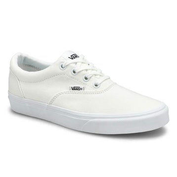 Women's DOHENY white/ white lace up sneakers