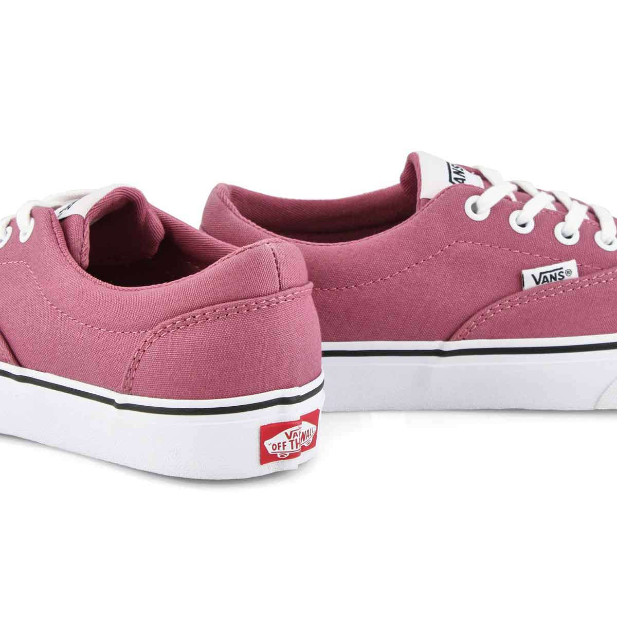 Women's Doheny Sneaker - Heather Rose/White