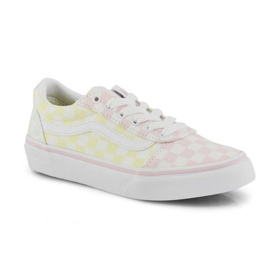 Girls' WARD multi lace up sneakers