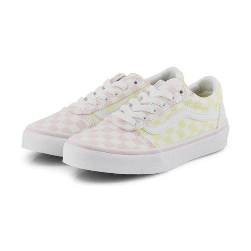 Grls Ward multi lace up sneaker