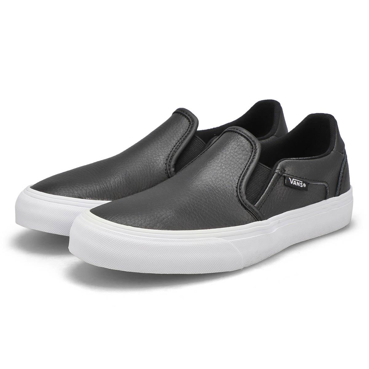 Women's Asher Deluxe Sneaker - Black/White