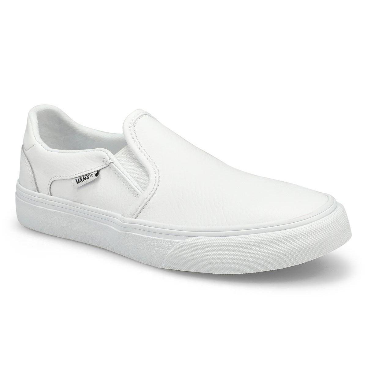 Women's Asher Deluxe Sneaker - White/White