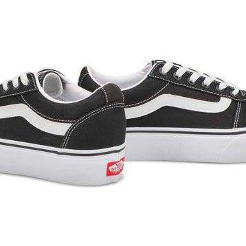 Women's Ward Platform Sneaker - Black/White