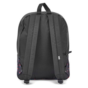 Women's REALM beauty floral black backpacks