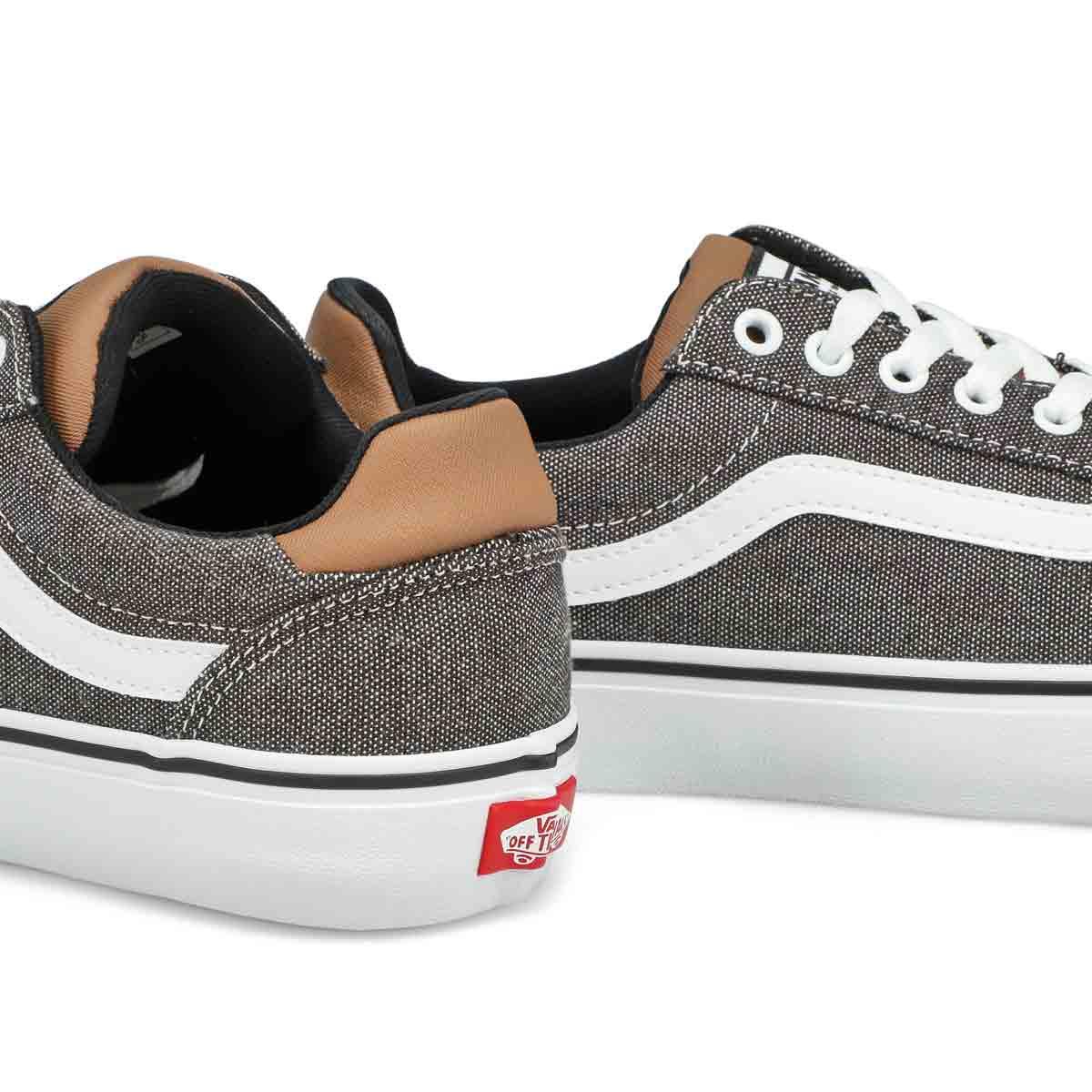 Men's Ward Deluxe Sneaker - Black/White