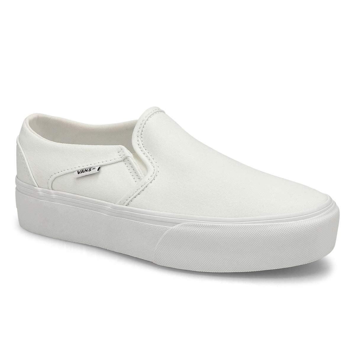 Women's Asher Platform Sneaker - White