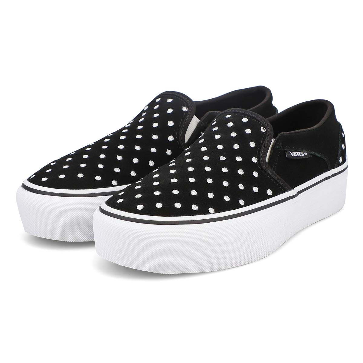 Women's Asher Platform Sneaker - Dots/Black