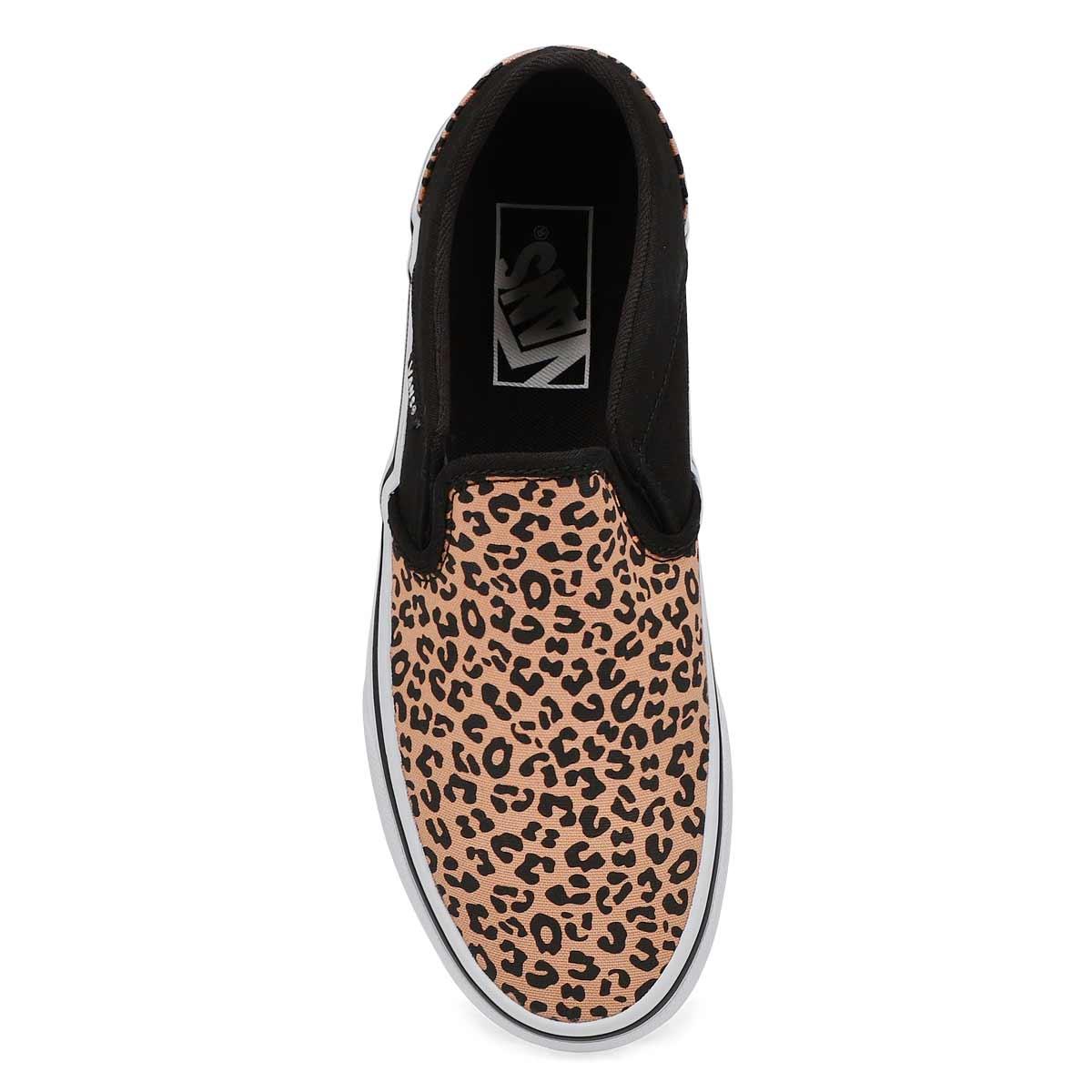 Women's Asher Sneaker - Cheetah/Black/White