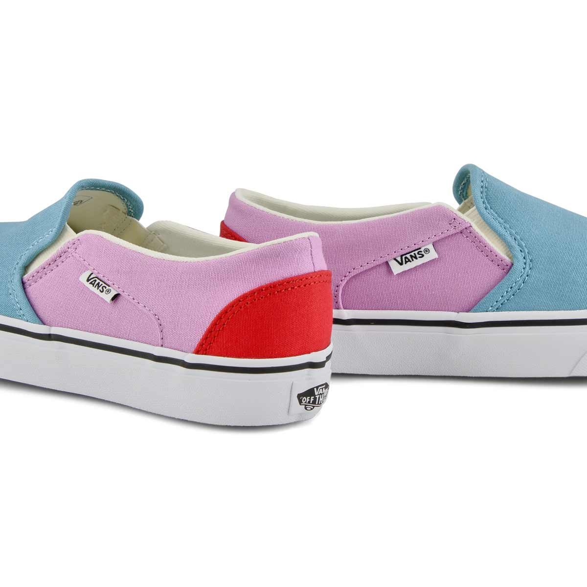 Women's Asher Sneaker - Orchid/Red