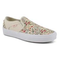 Women's Asher turtle dove/white slip on sneakers