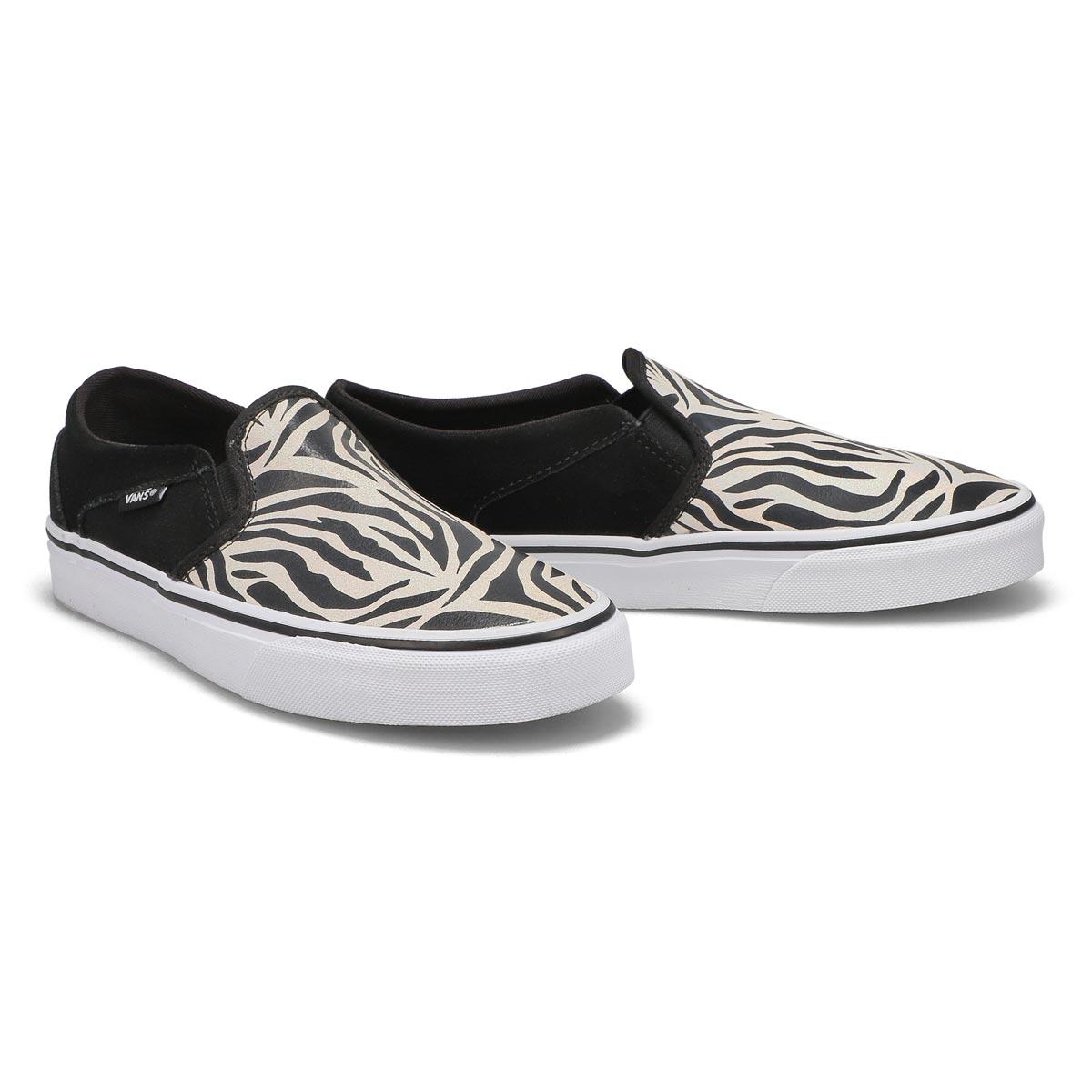 Women's Asher Sneaker - Metallic Zebra/Blk/White