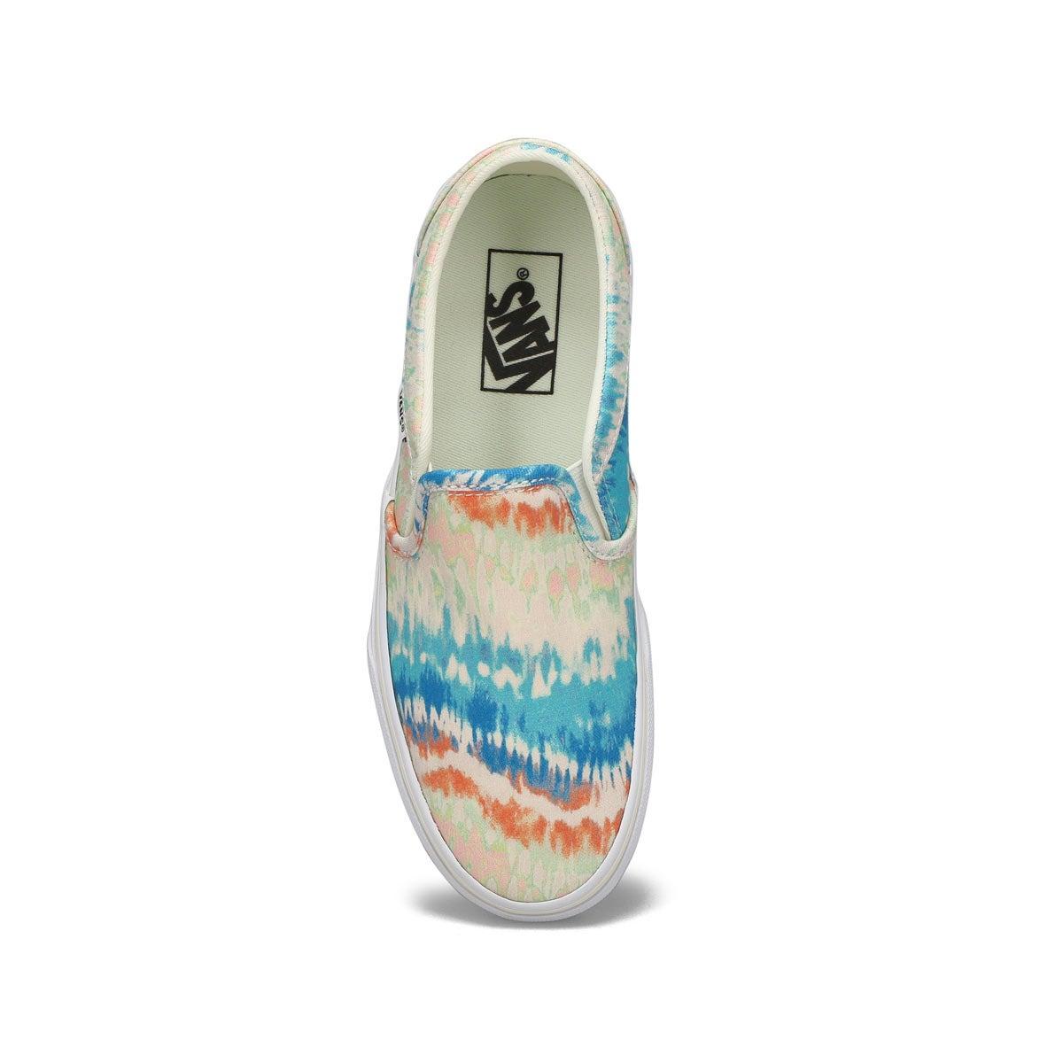 Women's Asher Sneaker - Tie Dye Multi/White