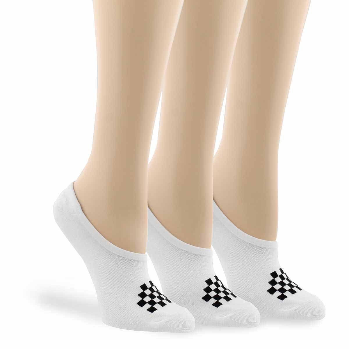 Women's CLASSIC CANOODLE white/black ankle socks