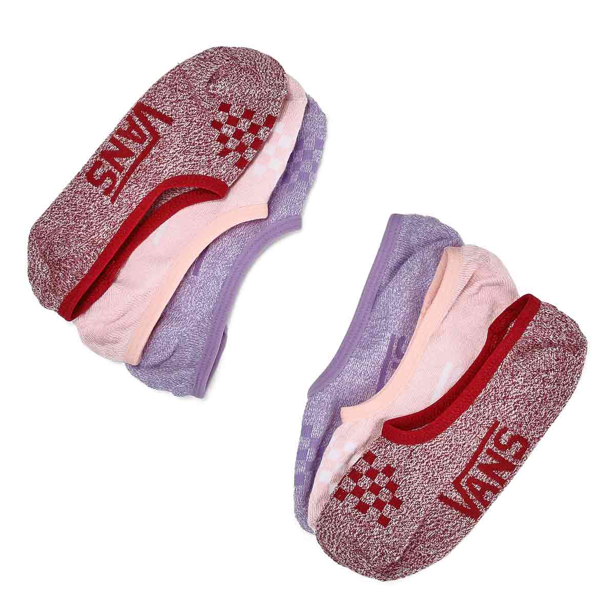 Women's Marled Canoodle Ankle Sock - 3 pack