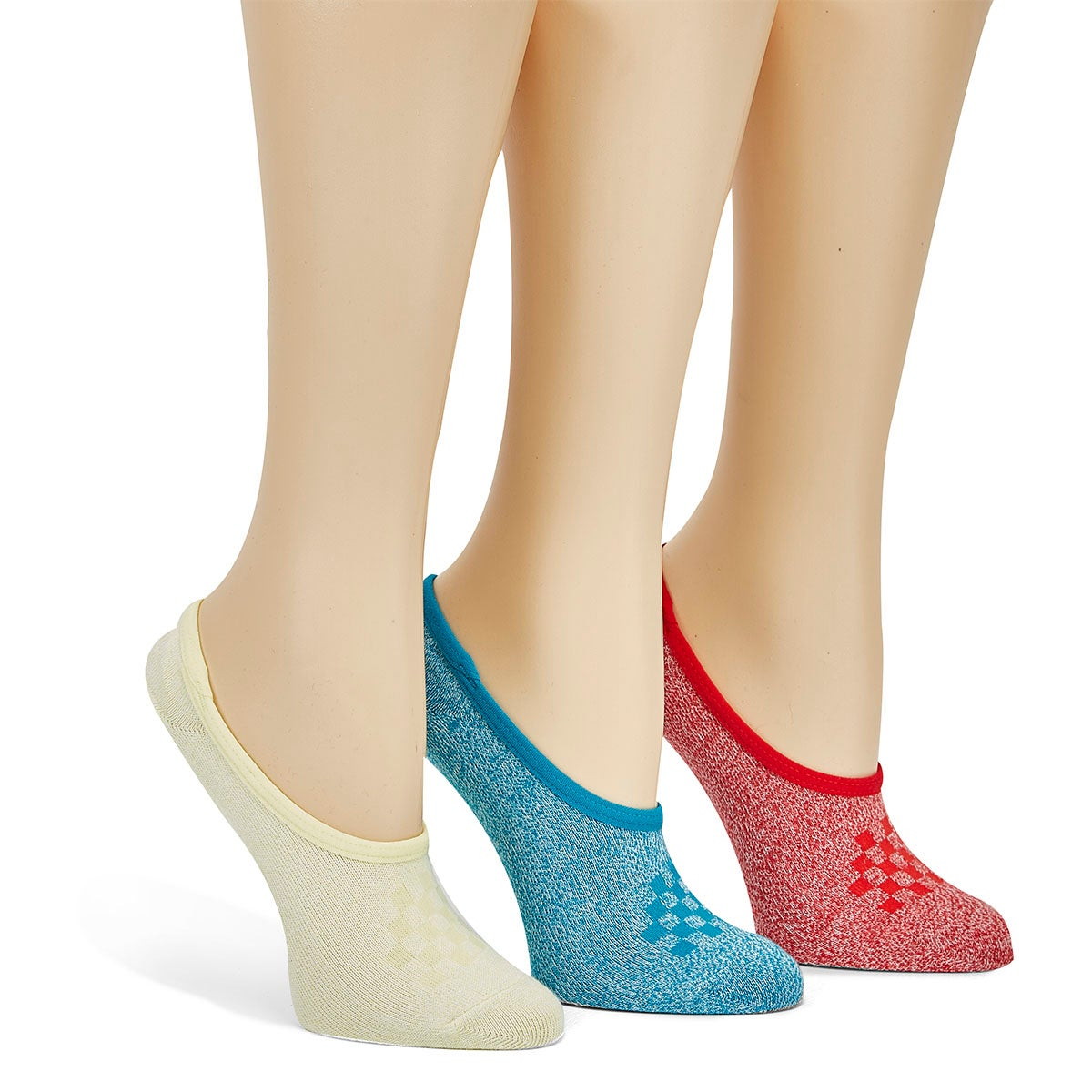 Women's CLASSIC MARLED CANOODLE ankle socks -3pk