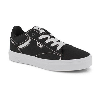 Kids' SELDAN black/white sneakers