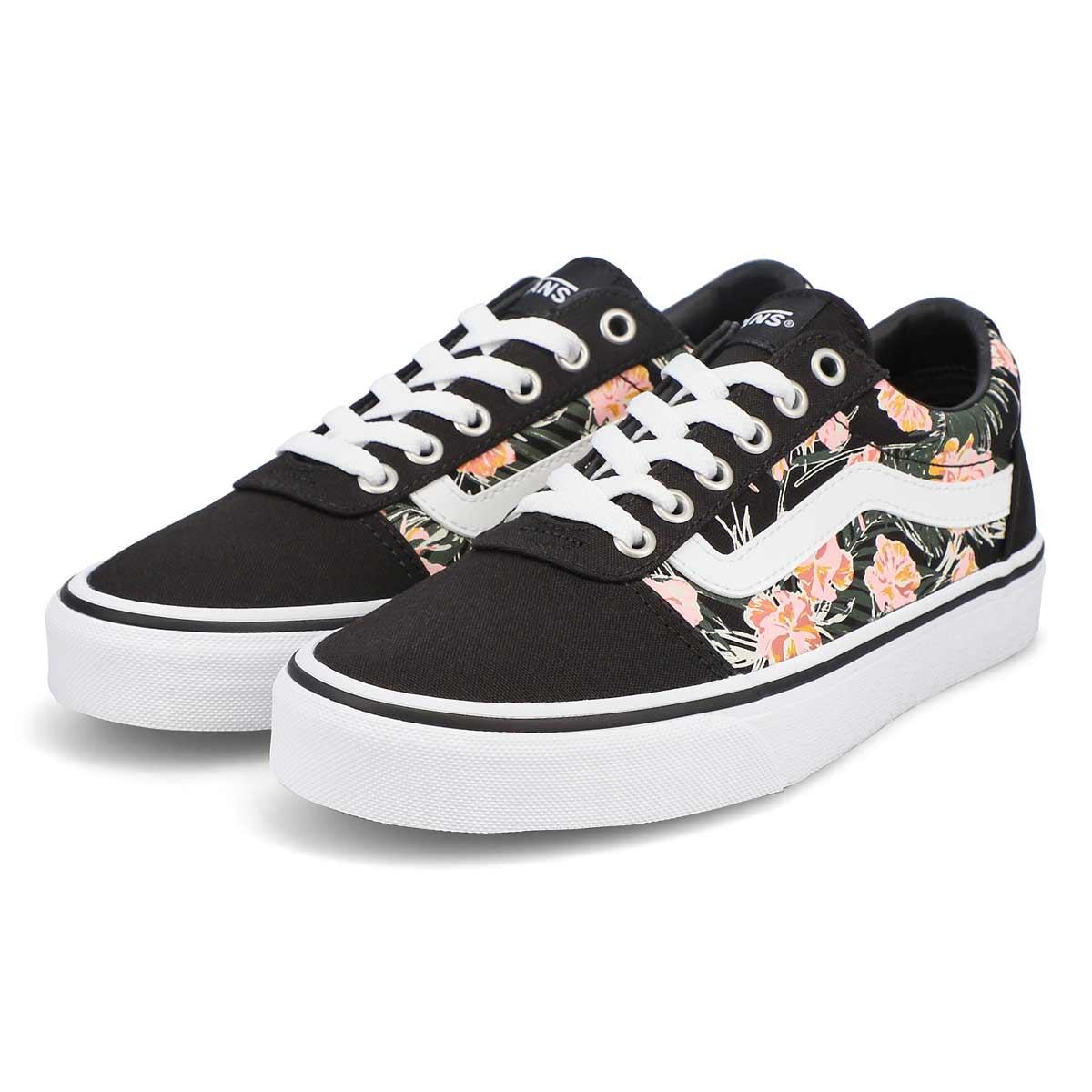 Women's Ward Palm Sneaker - Floral Black