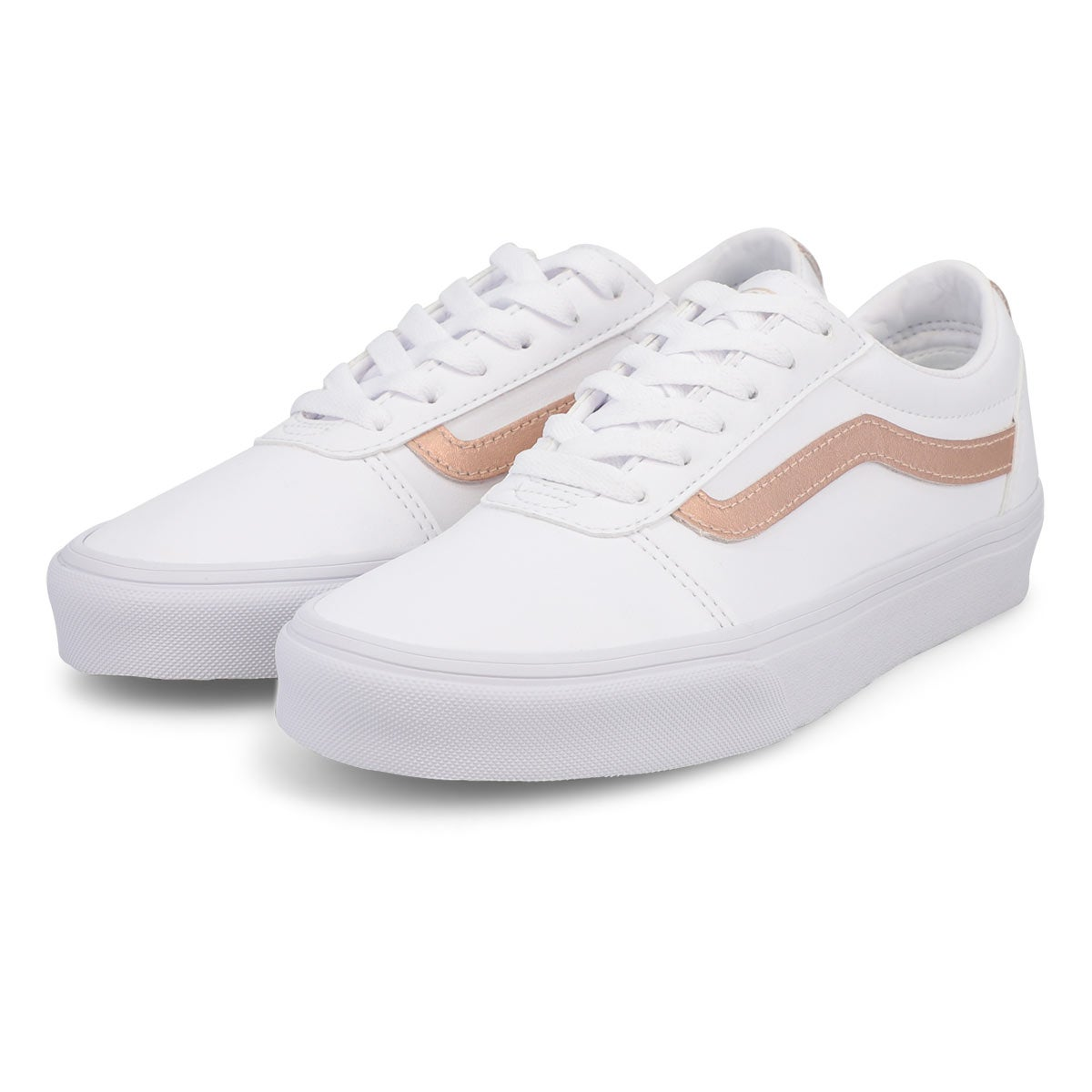 Women's Ward Sneaker - White/Rose Gold