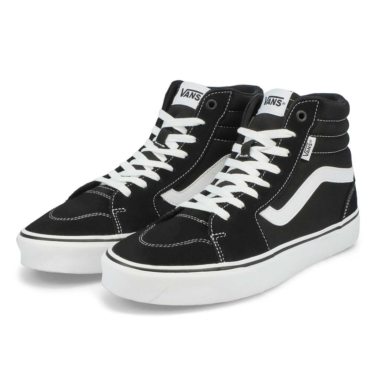Men's Filmore Hi Top Sneaker - Black/White