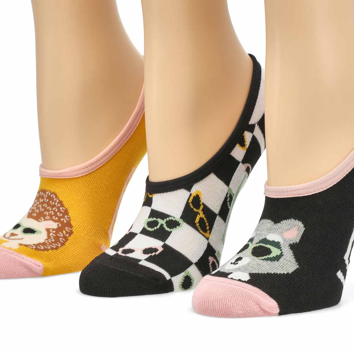Women's Paw Pal Canoodle Ankle Sock - 3 pack