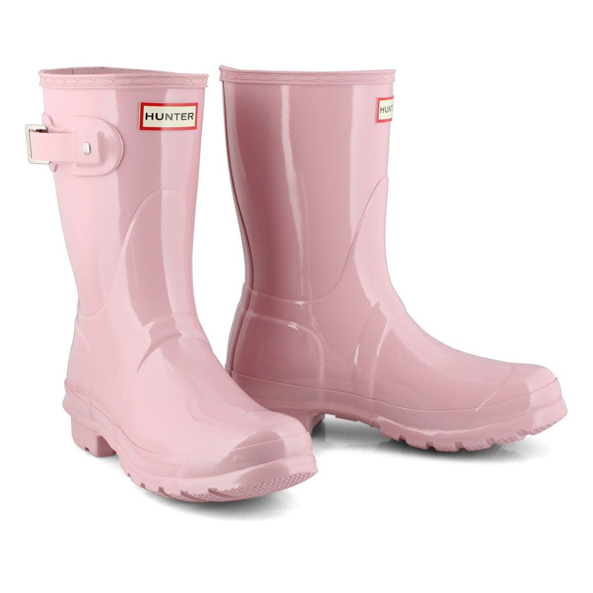 Women's Original Short Gloss Rain Boot - Foxglove
