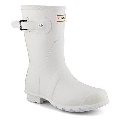 Lds Original Short Classic wht rain boot